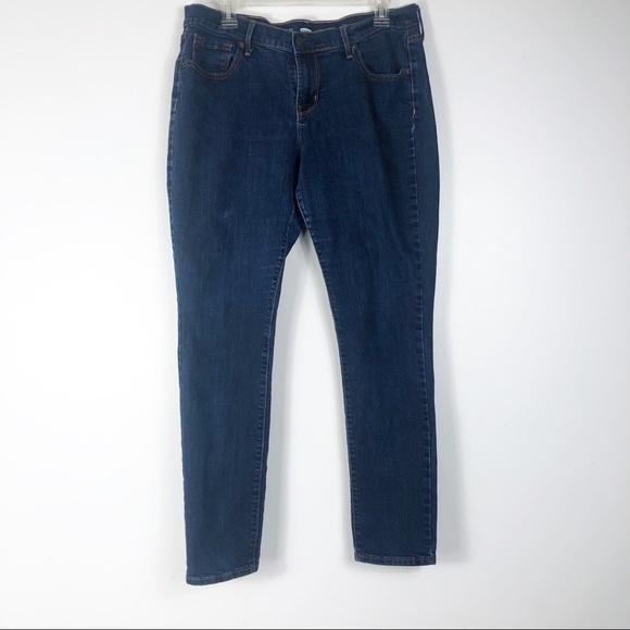 Old Navy Denim - Old Navy Dark Wash High Waisted Skinny Jeans